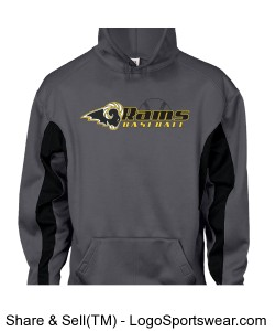 Drive Fleece Hoodie by Badger Design Zoom